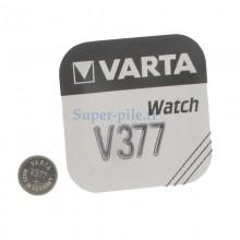 Pile de montre V377 SR626 Varta