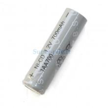 Accumulateur industriel NiCd type AA 700mAh