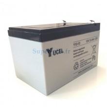 Batterie plomb 12V 12Ah Yucel