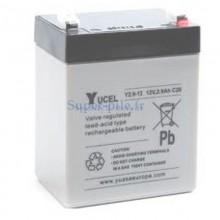 Batterie plomb Yucel 12V 2.9Ah