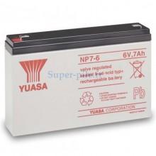 Batterie au plomb Yuasa 6V 7Ah