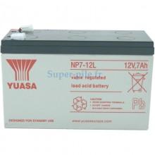Batterie au plomb Yuasa 12V 7Ah (faston 6.3)