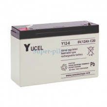 Batterie au plomb Yucel 6V 12Ah