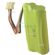 Batterie 2,4V 750mAh compatible pour PHILIPS TU3322