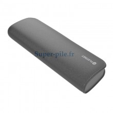 Powerbank cuir noir 7200mAh + cable micro USB
