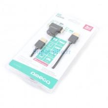 Cable HDMI v1.4 1,8M + adaptateurs micro & mini HDMI