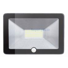 Projecteur extérieur LED 50W 4000°K avec détecteur de mouvement