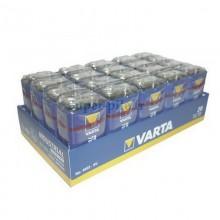 Piles alcalines 9V Varta industrielles (boîte de 20 piles)