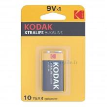 Pile alcaline 9V  Kodak Xtralife