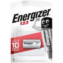 Pile lithium CR123A Energizer (blister de 1)