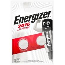 Pile lithium CR2016 Energizer (blister de 2)