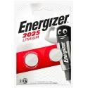 Pile lithium CR2025 Energizer (blister de 2)