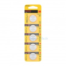 Pile lithium CR2450 Kodak (plaquette de 5)
