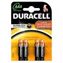 Piles alcalines AAA Duracell Plus Power (blister de 4)