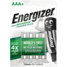 Piles rechargeables AAA Energizer 700mAh (blister de 4)