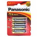Piles alcalines AA Panasonic Pro Power (blister de 4)