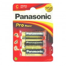Piles alcalines LR14 Panasonic Pro Power (blister de 2)