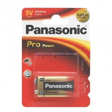 Pile alcaline 9V Panasonic Pro Power